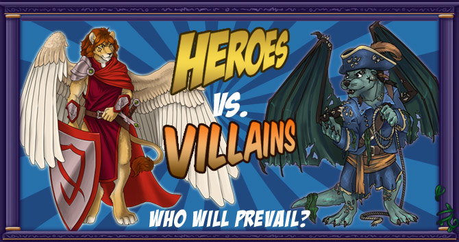 Heroes vs. Villains - Who will prevail?