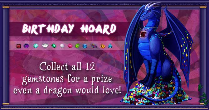 Birthday Hoard!