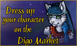Dress up your character on Digo Market!