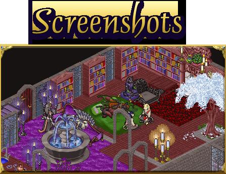 Mystical Homes - Furcadia Screenshot